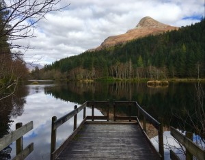 The Glencoe Lochan